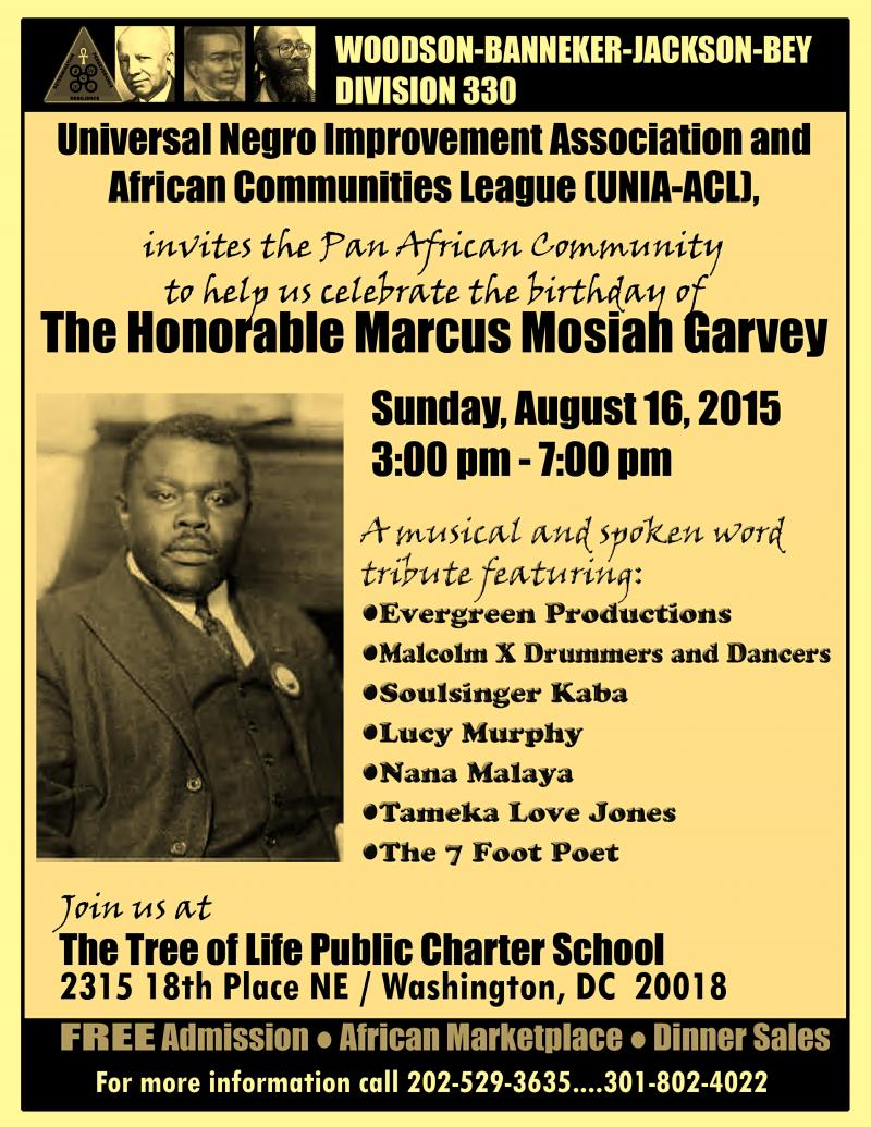 the marcus garvey and universal negro improvement association papers Jamaican political leader, who was a staunch proponent of the black nationalism and pan-africanism movements, founder the universal negro improvement association and african communities league (unia-acl), founder of the black star line, which promoted the return of the african diaspora to their ancestral lands.