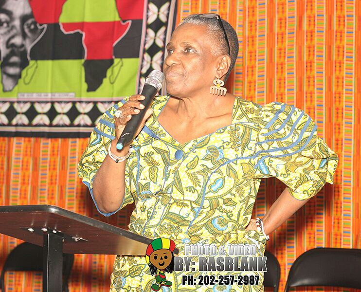 Mama Makini expressing her thoughts on receiving MMG award
